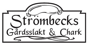 Strömbecks Gårdsslakt & Chark Logo